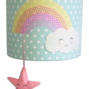 wandlamp regenboog