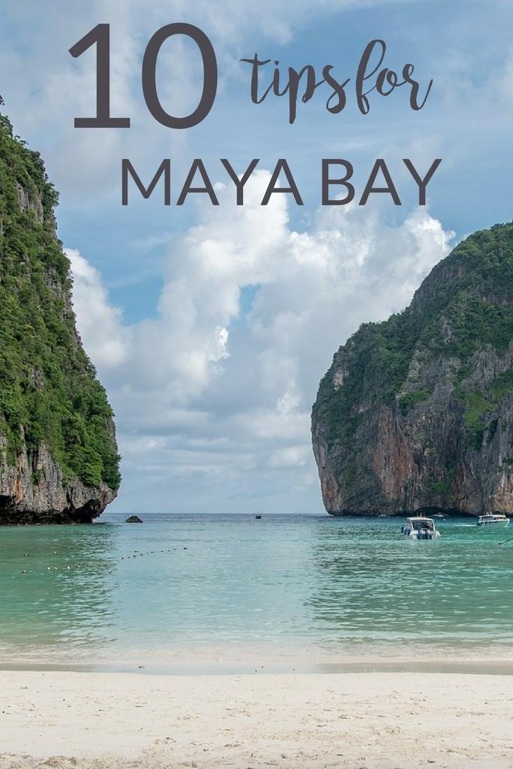 tips for maya bay