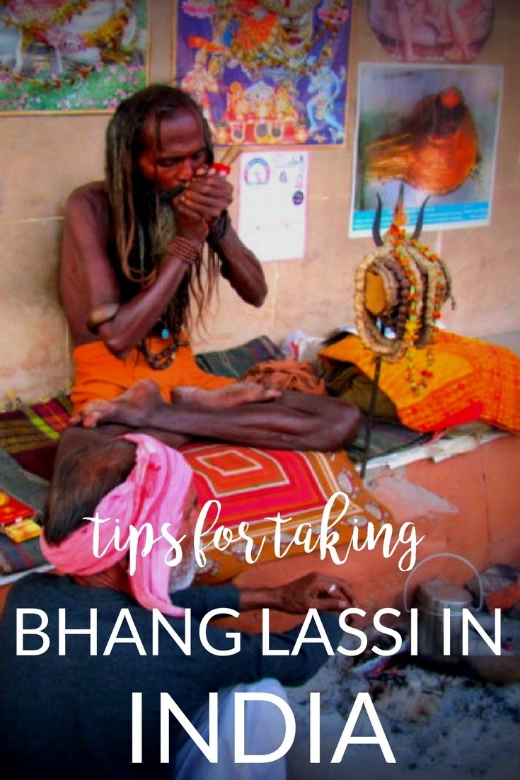 bhang lassi in India tips