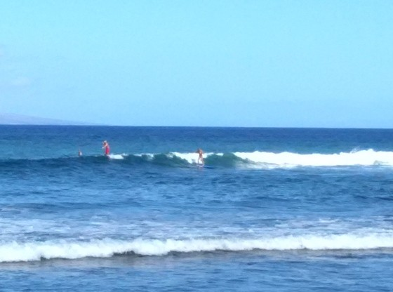 Surf Clinic with nancy emerson
