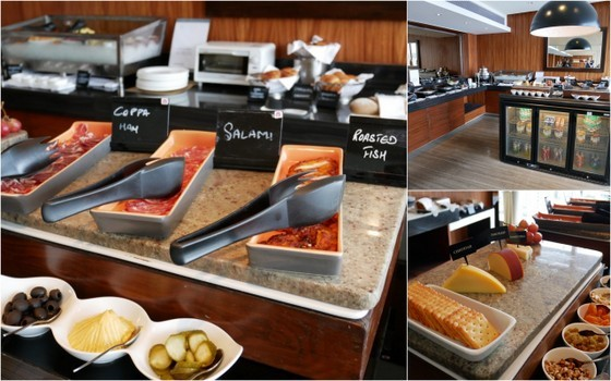 My Little Weekend Guide to Bangalore sheraton champagne breakfast