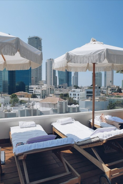 Ultimate list of best boutique hotels in tel aviv hippie for Design hotel tel aviv