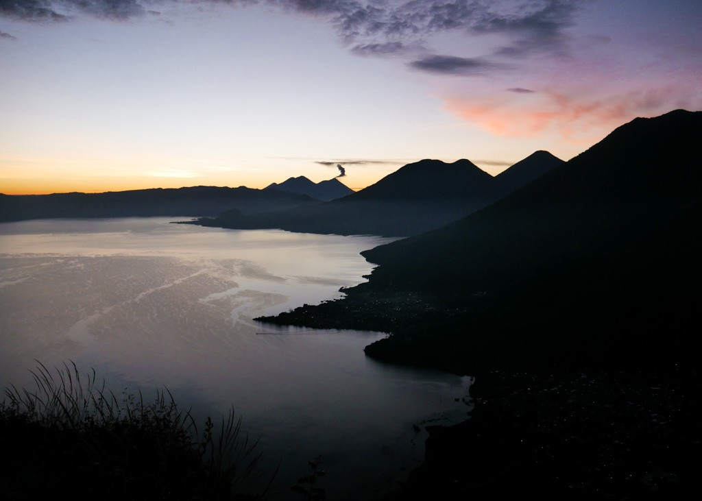 Sunrise Lake atitlan