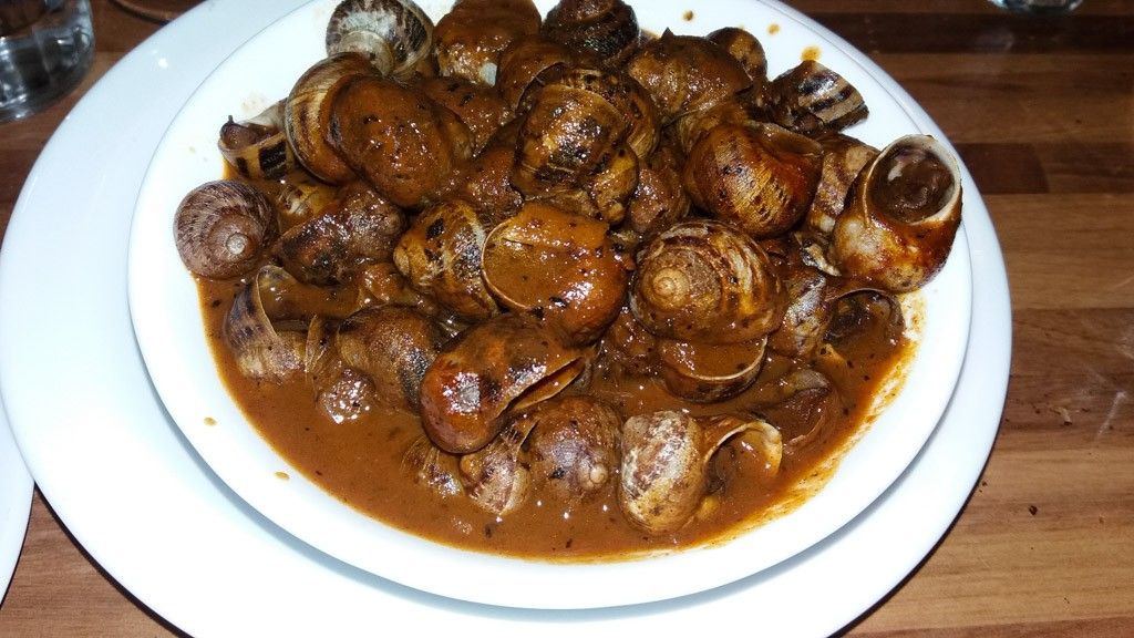 Bebbux, Maltese snails cooked in a spicy tomato stew