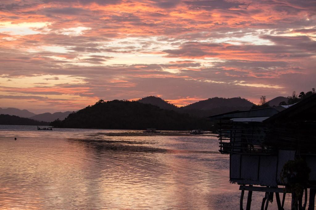 Sunset in Coron, a good enough reason to visit palawan