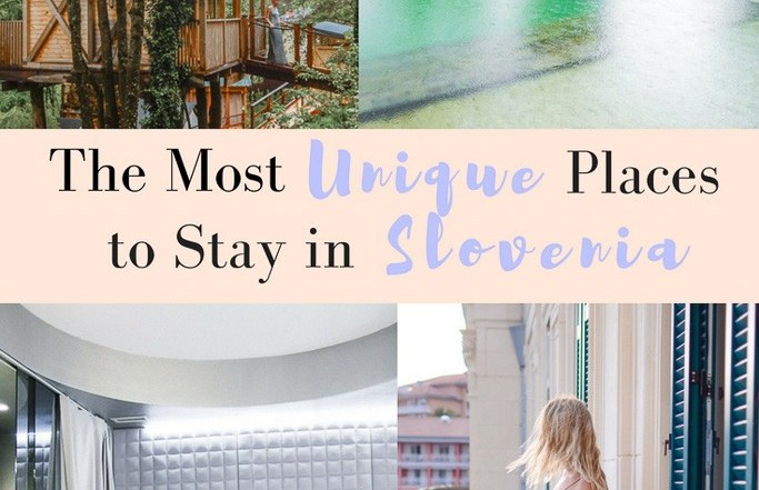 most unique places to stay in slovenia
