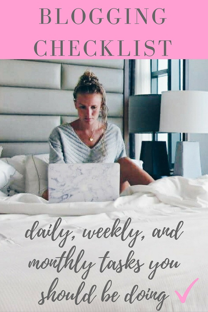 Checklist For Travel Bloggers: The Exact Daily & Weekly Tasks I Do As A Travel Blogger