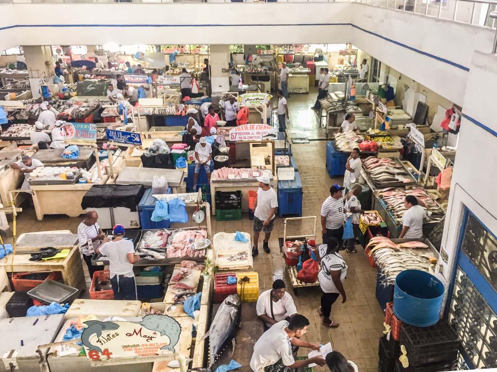 mercado de mariscos casco viejo