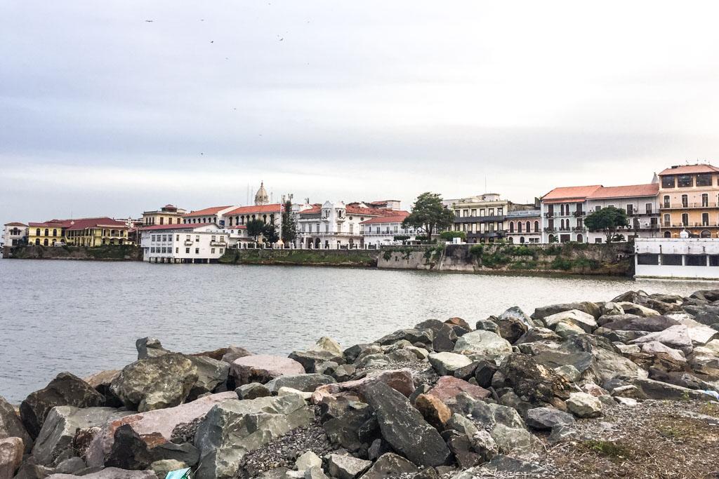 View of Casco Viejo from Quinto Centenario
