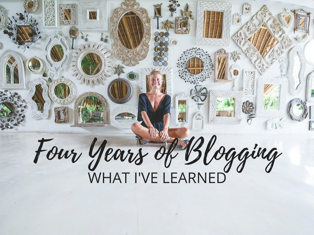 Thoughts on Blogging Four Years Later