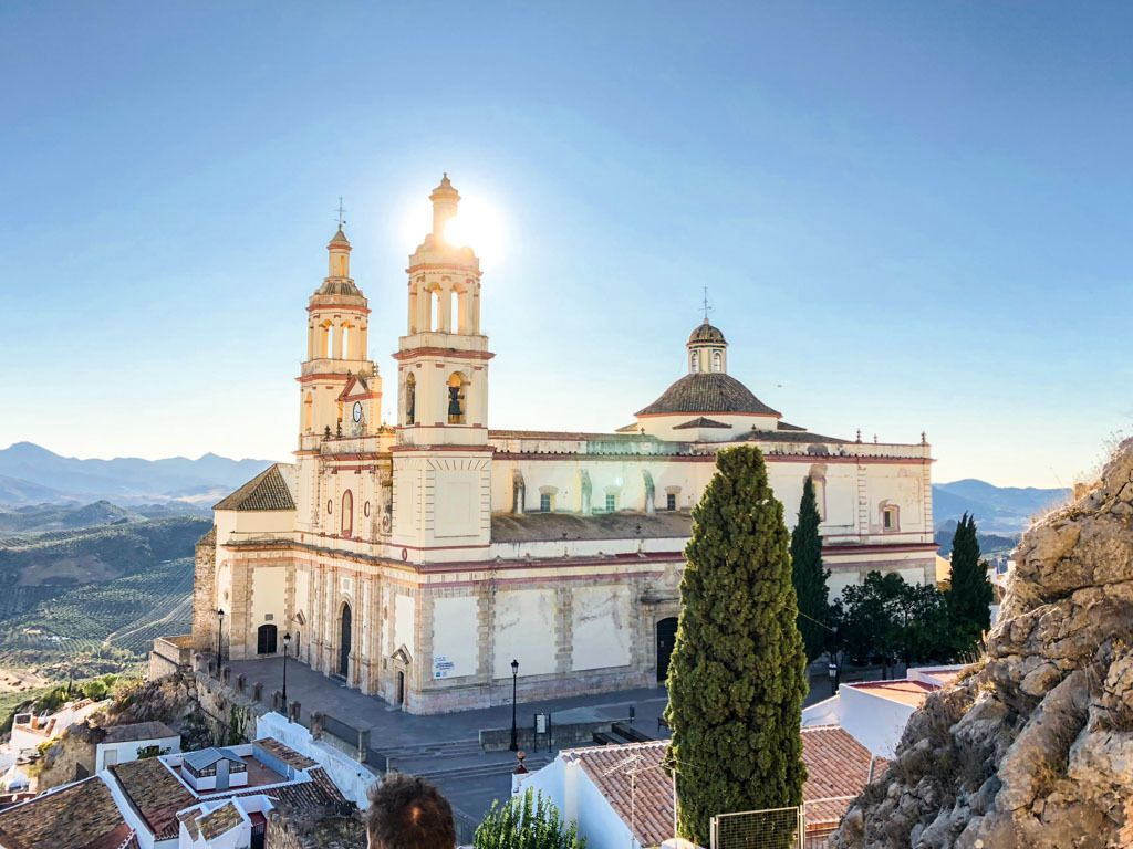 spanish church olvera