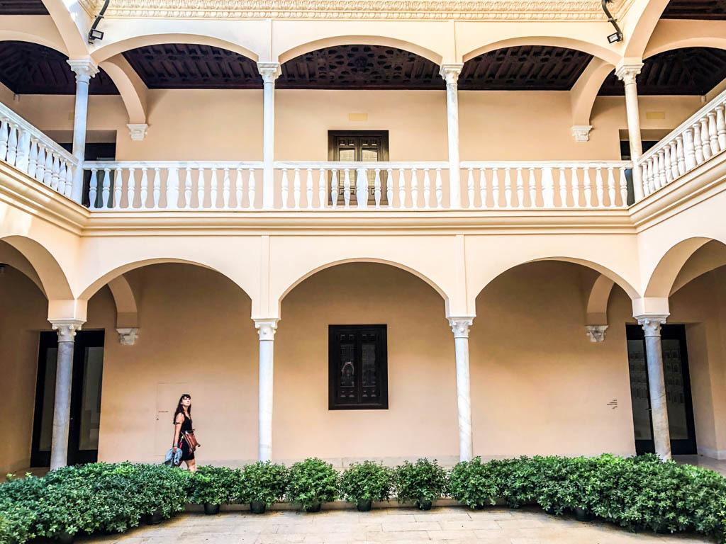 picasso museum malaga spain