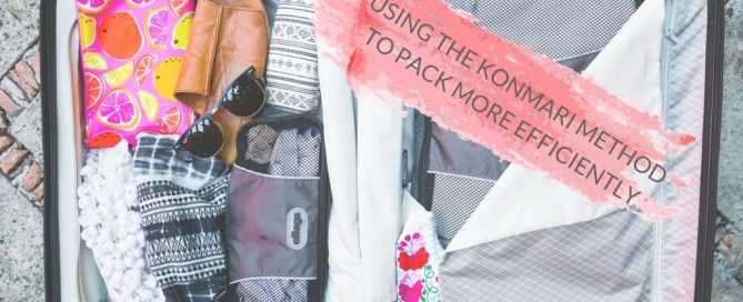 Using the KonMari Method to Pack Insanely Efficiently