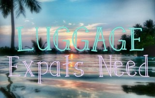 moving abroad luggage, luggage you need to move abroad