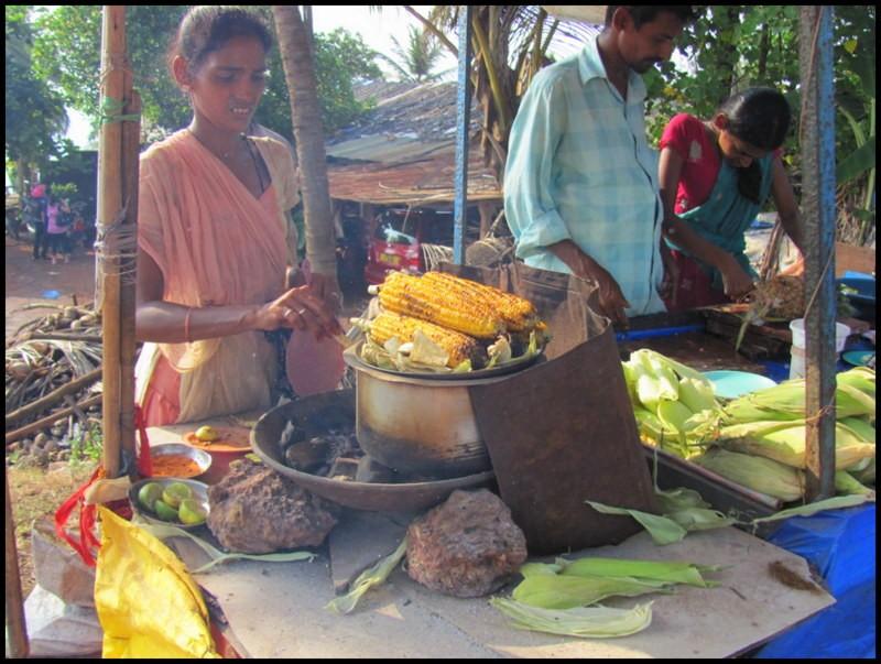 india corn