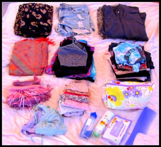 women packing list india beach
