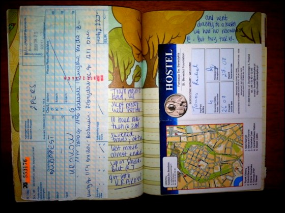 travel paperwork documents