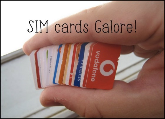 backpacking india budget, backpackers sim card in india