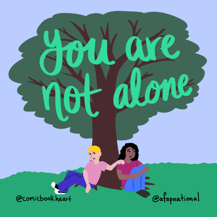 You Are Not Alone @afspnational