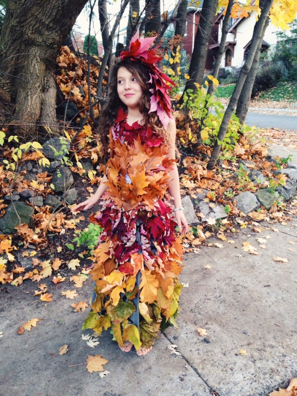 Make Mother Nature Leaf Dress - Hippie In Disguise