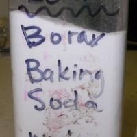 Homemade Scouring Powder