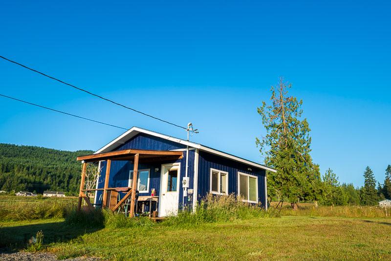 Our 400 sq ft rental studio in Sequim, WA