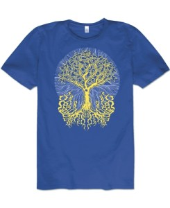 Tree of Life Organic Hippie T-shirt