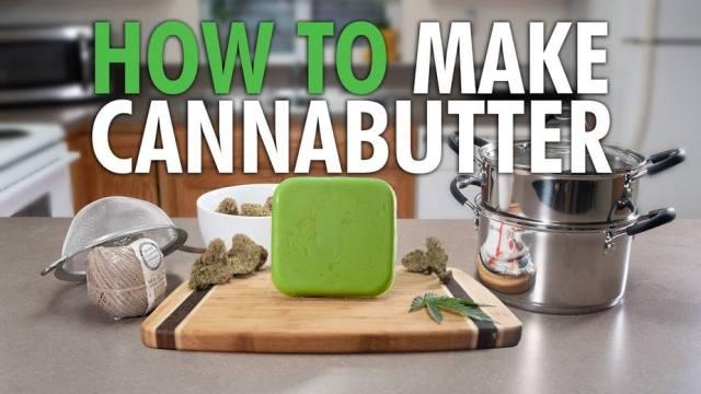Making Cannabutter - HOW TO MAKE CANNABIS BUTTER (CANNABUTTER) RECIPE