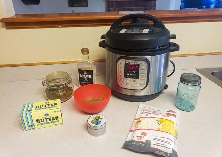 Instant Pot Cannabutter |The No-Mess, No-Smell Method