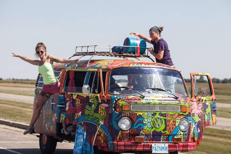 Hippie Van Man 1-Year-Pan-American-Road-Trip Anniversary