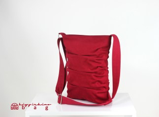 Maroon Small Tote Bag