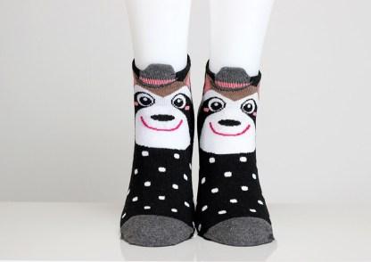 Raccoon Funny Socks