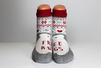 Solar Bear Free Hugs Socks