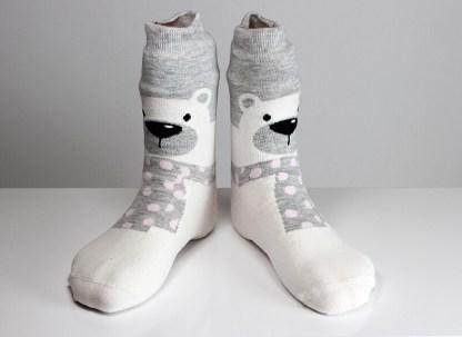 Solar Bear Socks
