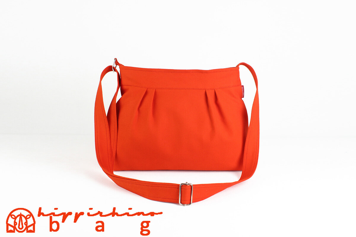 0acf78e06c1c Orange Small Canvas Bag Shoulder Purse Everyday Bag Fully Lined