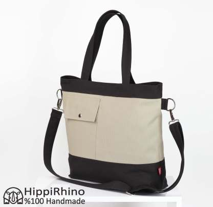 Large Tote Bag Two Colors