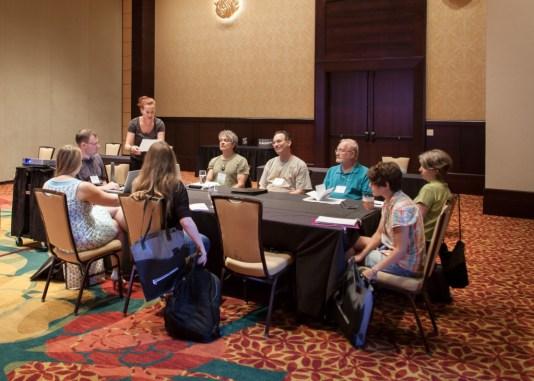 hippocamp 2015 editing workshop in action