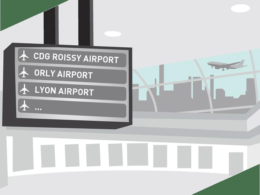 livraison aéroport