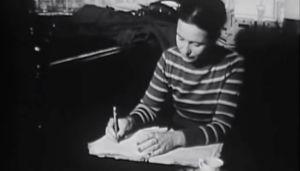 Simone de Beauvoir café