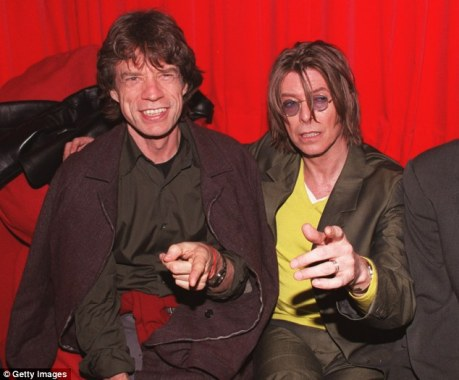 Jagger and Bowie