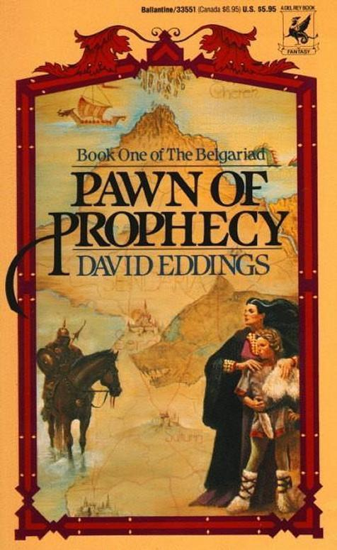 Book Review Pawn of Prophecy by David Eddings  Mission Viejo Library Teen Voice