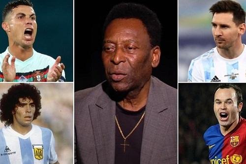 Pele Named His 12 Best Footballers In History
