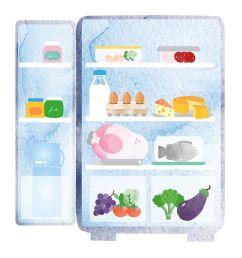 how to organise your fridge [ 1000 x 1000 Pixel ]