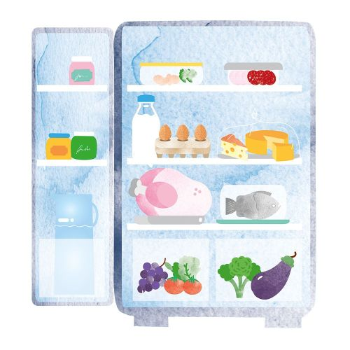 small resolution of how to organise your fridge