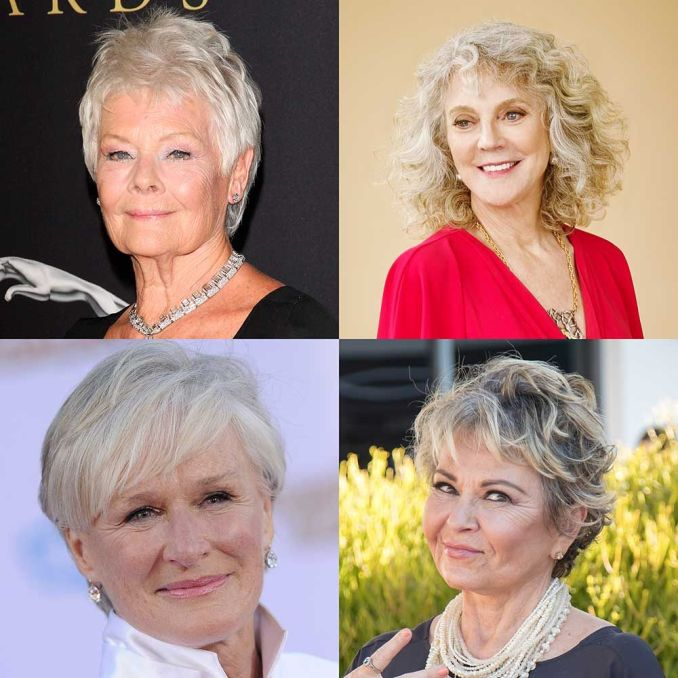 hairstyles for older women - haircuts that look amazing on
