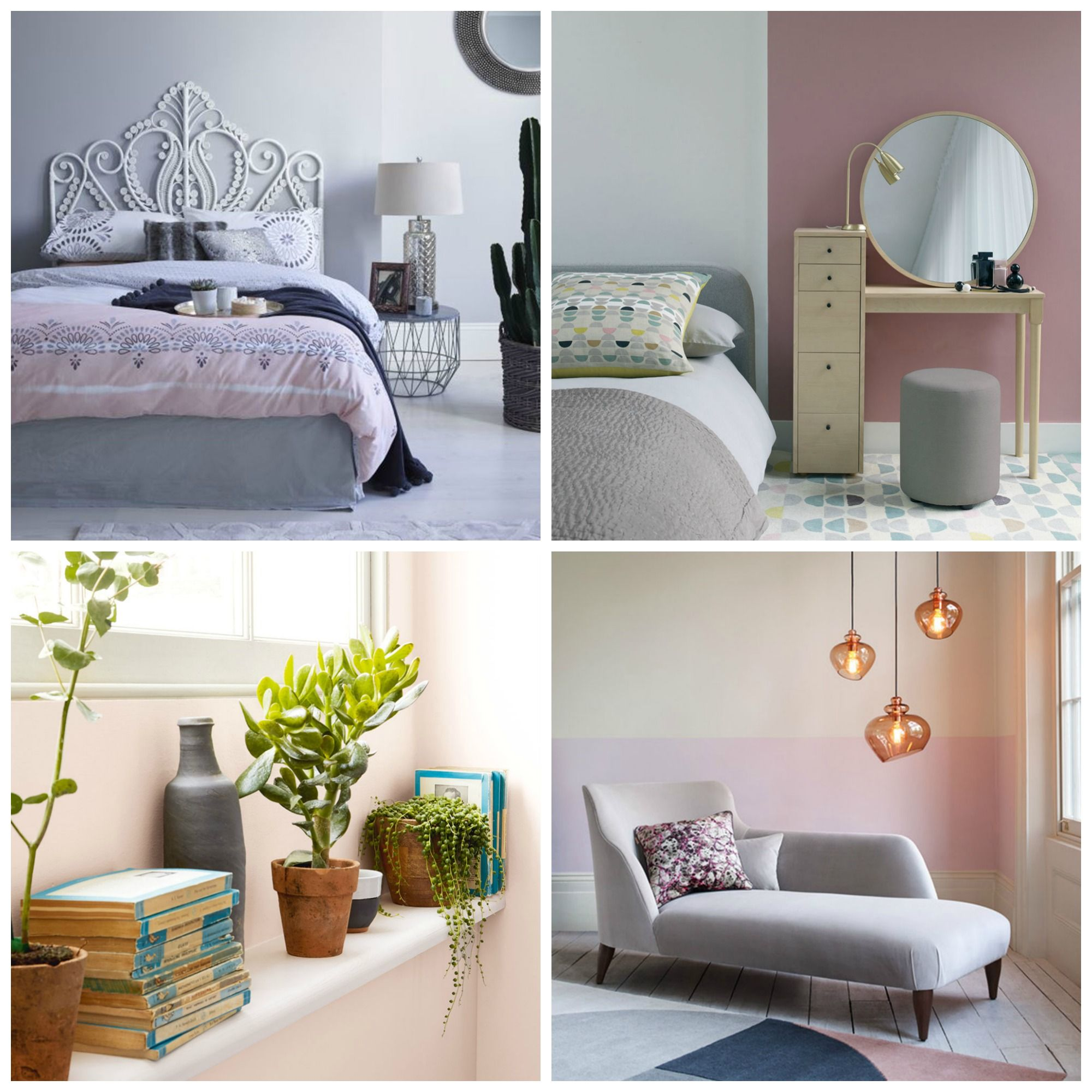 12 pink and grey