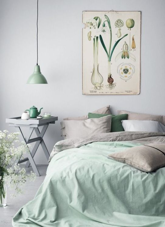 A Guide To Decorating With Mint Green Interiors Decorating Ideas Red Online