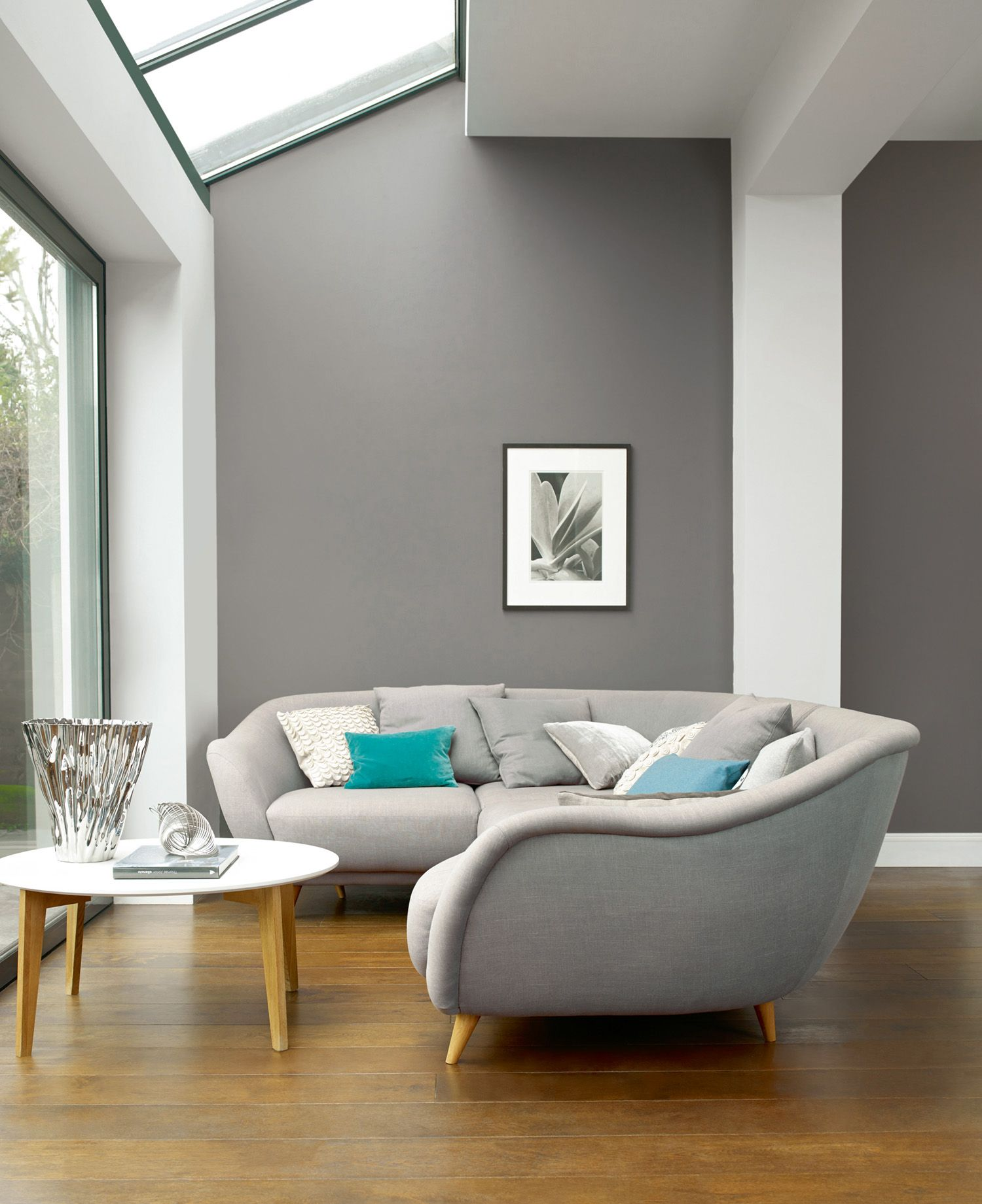 feature wall paint ideas for living room interior design the best grey to decorate with | interiors inspiration