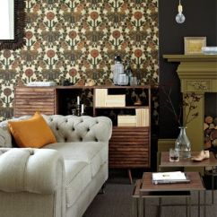 Best Wallpaper For Small Living Room What Color Should You Paint Your The Wallpapers To Buy Now Be Brave With These Bold Colour Ideas