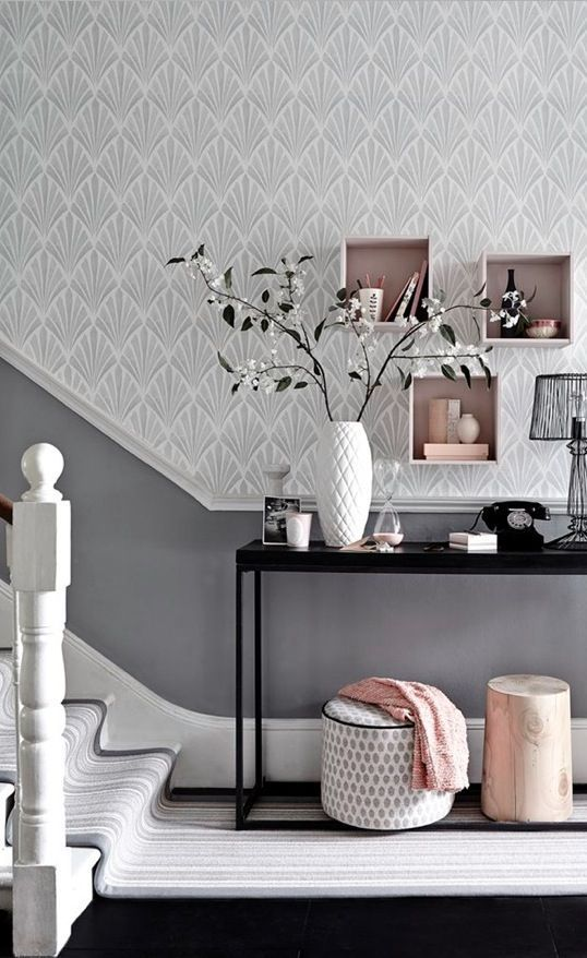 Hallway Ideas To Steal Floor And Wallpaper Ideas